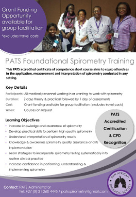 PATS Foundational Spirometry Training