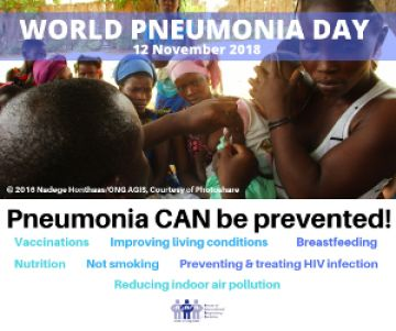 World Pneumonia Day 12 Nov 2018