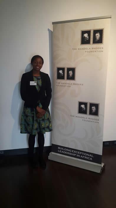 Congratulations to Dr Agatha Banga who has been selected as a Mandela Rhodes Scholar