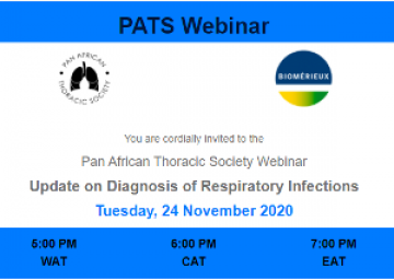 Update on Diagnosis of Respiratory Infections Webinar