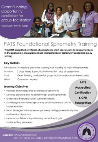 PATS Foundational Spirometry Training