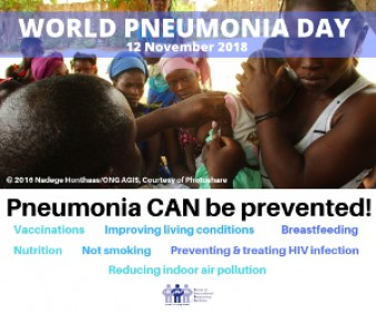World Pneumonia Day 12 Nov 2018